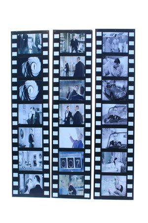 Bond 007 Film Strips