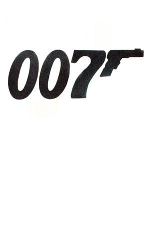 Bond 007 Sign