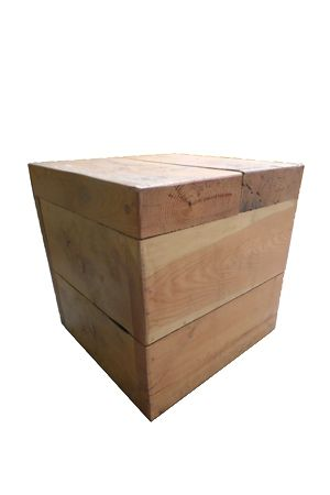 Wooden Cube - Large