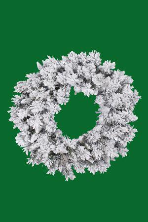 Wreaths - Flocked