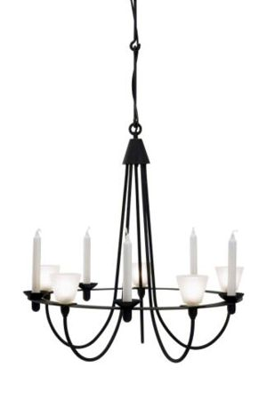 Chandelier - Wrought Iron