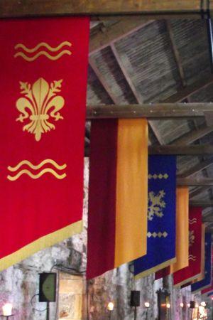 Banner - Red Heraldic