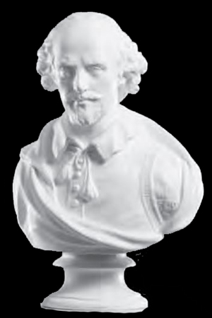 Bust - Shakespeare