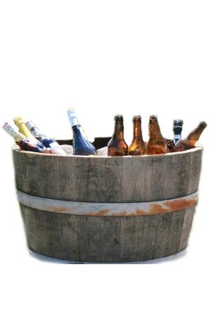 Cask barrel - half