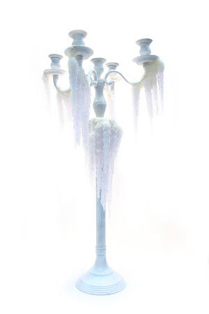 Candelabra with Icicles