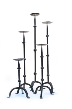 Candlestick - Wrought Iron