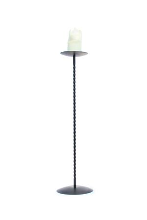 Candlestick - Wrought Iron, Single stick