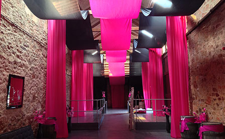 Fabric Installation / Pipe & Drape